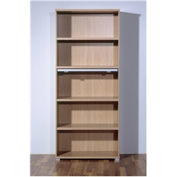 Bookcase Walnut Royal. W750 x H1900 x