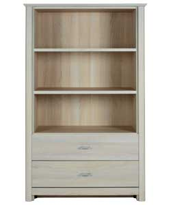 Light Acacia Effect Bookcase