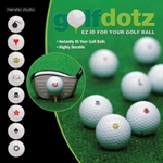 Golfdotz Ez Id For Your Golf Ball VSGDOTS-GD44-012