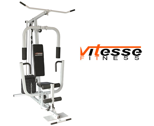 Multi Gym Vitesse 150lb Home Gym With Seated Row