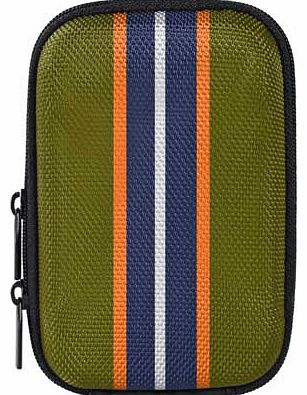Vivitar Compact Camera Case - Khaki Stripe