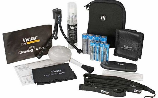 Digital Camera Starter Kit - 20 Piece