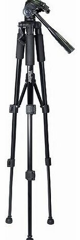 62`` PROFESSIONAL CAMERA TRIPOD PORTABLE ADJUSTABLE STAND + CARRY BAG NEW