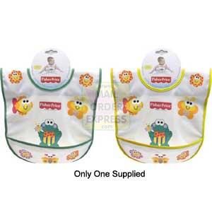 Fisher Price Childs Bib with Pouch