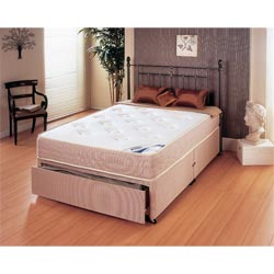 Compare prices of divan beds read divan bed reviews buy for Double divan bed without headboard
