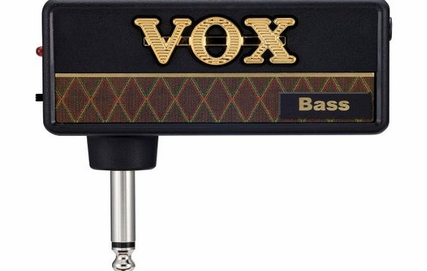 Vox amPlug Bass Headphone Guitar Amp