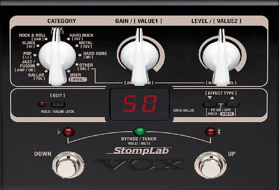StompLab IG Guitar Multi-Effects Modelling