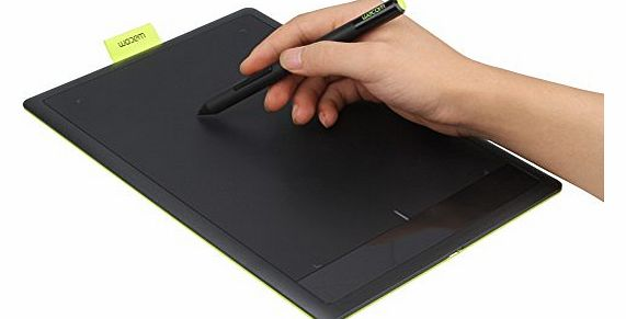 New 7mm Ultra Thin 420g Light Weight Large Work Surface Pro Medium Bamboo Pen Graphics Tablet CTL671 for PC / MAC Birthday & Xmas Gift(Black)