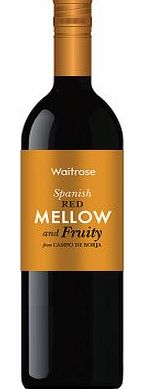 Mellow And Fruity Spanish Red