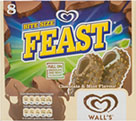 Walls Bite Size Feast (8x60ml) Cheapest in