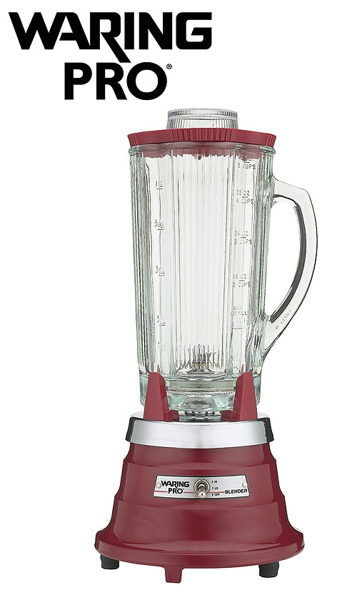 Waring Pro Blender Pro Chili Red