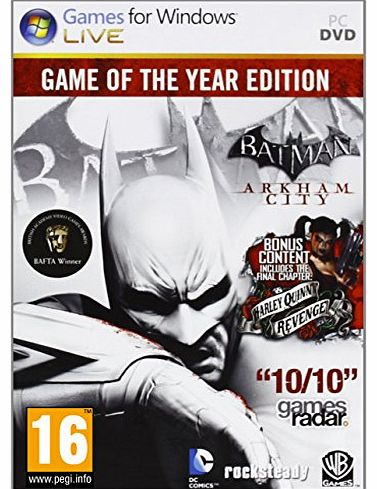 Batman: Arkham City - Game of the Year (PC DVD)