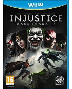 Injustice God Among Us on Nintendo Wii U