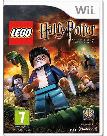 Lego Harry Potter Years 5-7 on Nintendo Wii