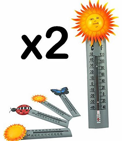 Thermometer - Medicare Equipment (Pack of 2, Sun)