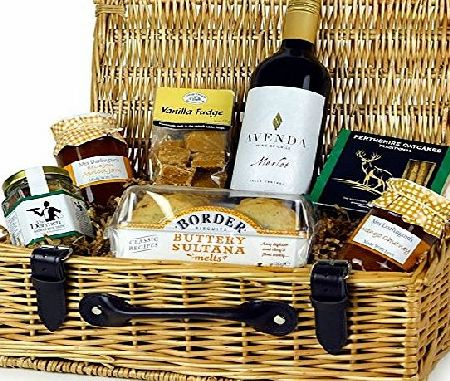 ANY OCCASION GIFT HAMPER WITH RED WINE - Great food hamper gift for any occasion at any time of the year!. Food hampers by Web Hampers.