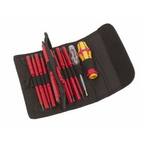 VDE Screwdriver Blades and Handle 18 Pc