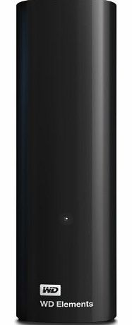 WD 3 TB USB 3.0 Elements Desktop Hard Drive for Plug-and-Play Storage
