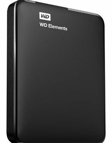 WD Elements 2TB USB 3.0 High Capacity Portable Hard Drive for Windows