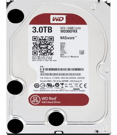 WD Red 3TB for NAS 3.5-inch Desktop Hard Drive - OEM