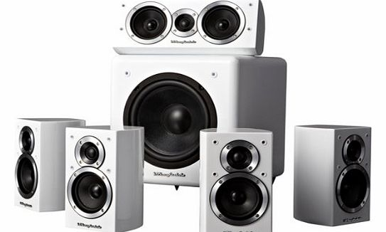 DX1 HCP 5.1 Home Cinema Speaker Package - WHITE GLOSS