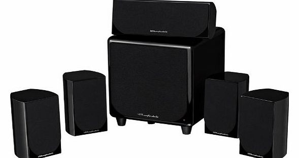 DX1 HCP 5.1 Home Cinema Speaker System (Gloss black)
