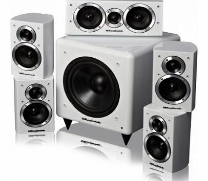 DX1 HCP 5.1 Home Cinema Speaker System (Gloss white)