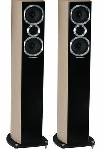 DIAMOND 10.MT COLUMN SPEAKERS (PAIR) (WALNUT)