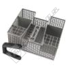 Grey Dishwasher Cutlery Basket