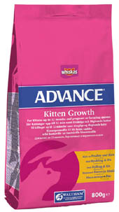 Whiskas Advance Kitten 3Kg