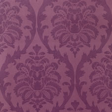 Coloroll Florence Wallpaper Plum M0353