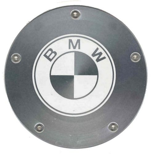 BMW Logo aluminium Tax Disc Holder