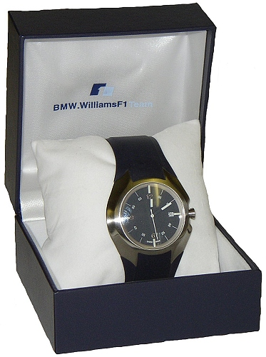 BMW Williams Fast Blue Wrist Watch