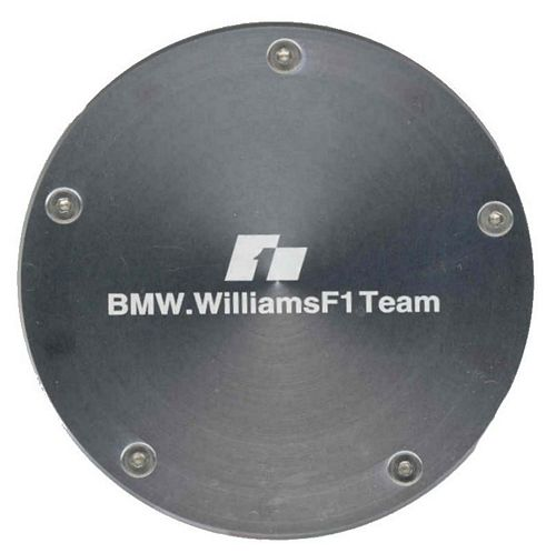 BMW Williams Logo aluminium Tax Disc Holder