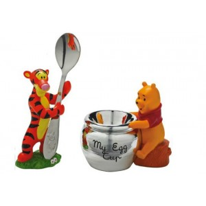 Winnie The Pooh And Tigger SILVER PLATED Spoon
