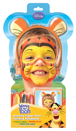 Winnie The Pooh Tigger Face Paint Kit