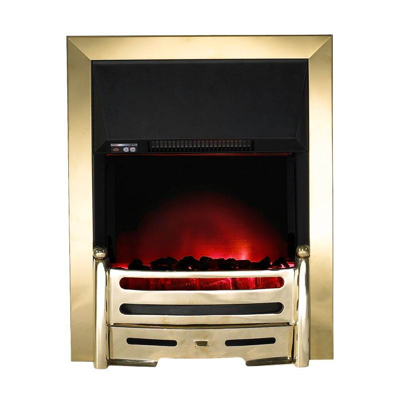 Crown Electric Inset Fire with Remote Control