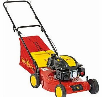 Wolf-Garten Wolf Garten 46cm Self Propelled Petrol Lawnmower with 70L Grass Collector