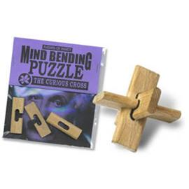 wooden Puzzles The Curious Cross