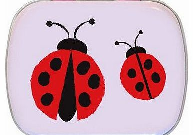 Ladybirds Mini Trinket Tin - Gift Idea
