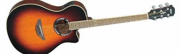 APX500II Thinline Cutaway Acoustic-Electric Guitar Old Violin Sunburst