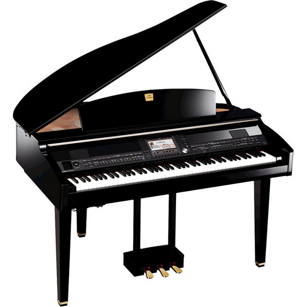 yamaha clavinova cvp409 mini grand piano ebony review