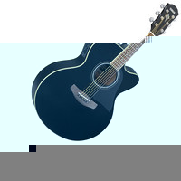 CPX500II Electro Acoustic Guitar Black