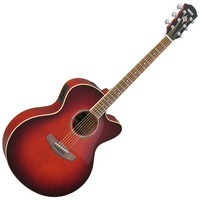 CPX500II Electro Acoustic Guitar Red