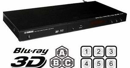 2013 YAMAHA 3D CODEFREE BD-S473 Blu-Ray Disc Player MultiZone Region Code Free DVD 012345678 PAL/NTSC Blu Ray Zone A/B/C. DivX XviD AVI and MKV Playback and Support. 100~240V 50/60Hz comes with EU &am
