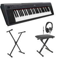 NP11 Piaggero Portable Digital Piano Blk