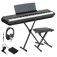P105 Digital Piano Black FREE Stand Bench