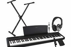 P35 Digital Piano Black Including Stand