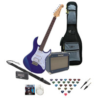 Pacifica 012 Electric Guitar Blue with