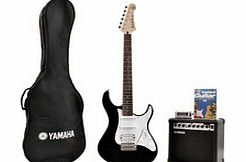Pacifica 012 Electric Guitar Pack Black -